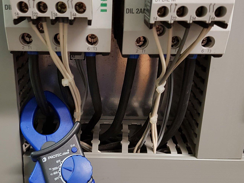 Elektrothermografie Realbild elektrischen Anlage