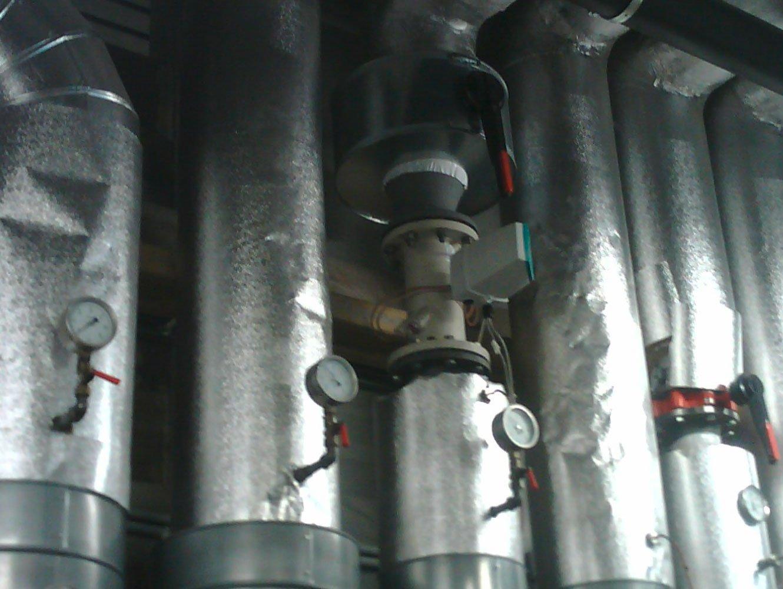 Industriethermografie Realbild Industrie-Anlage