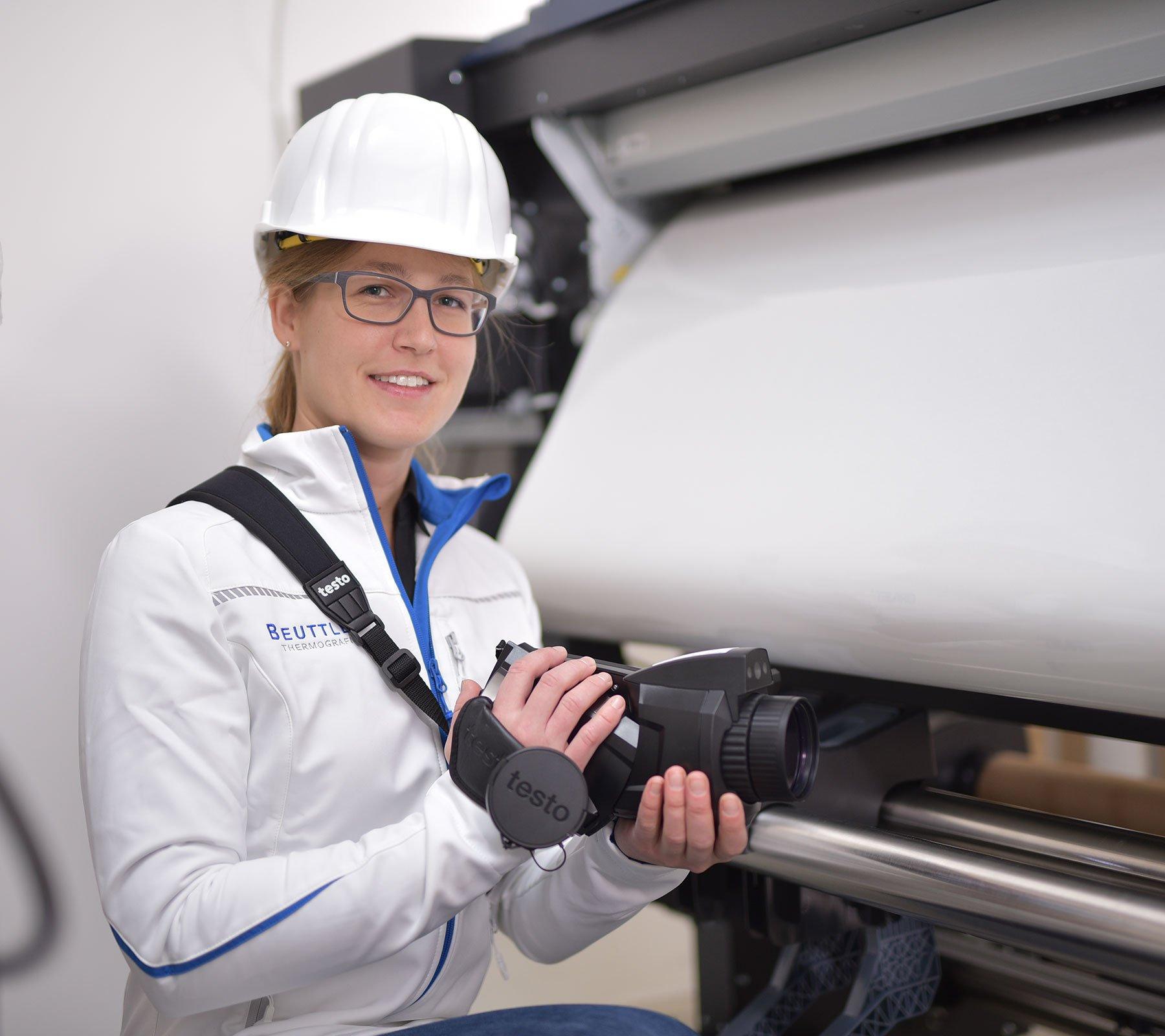 Industriethermografie Industrieanlagen